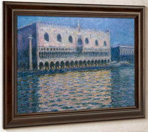 The Doge's Palace In Venice By Monet Claude