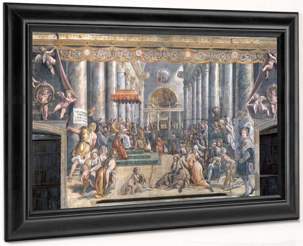 The Donation Of Constantine By Raphael