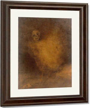The Dream Finished By Death By Odilon Redon