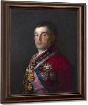 The Duke Of Wellington By Francisco De Goya