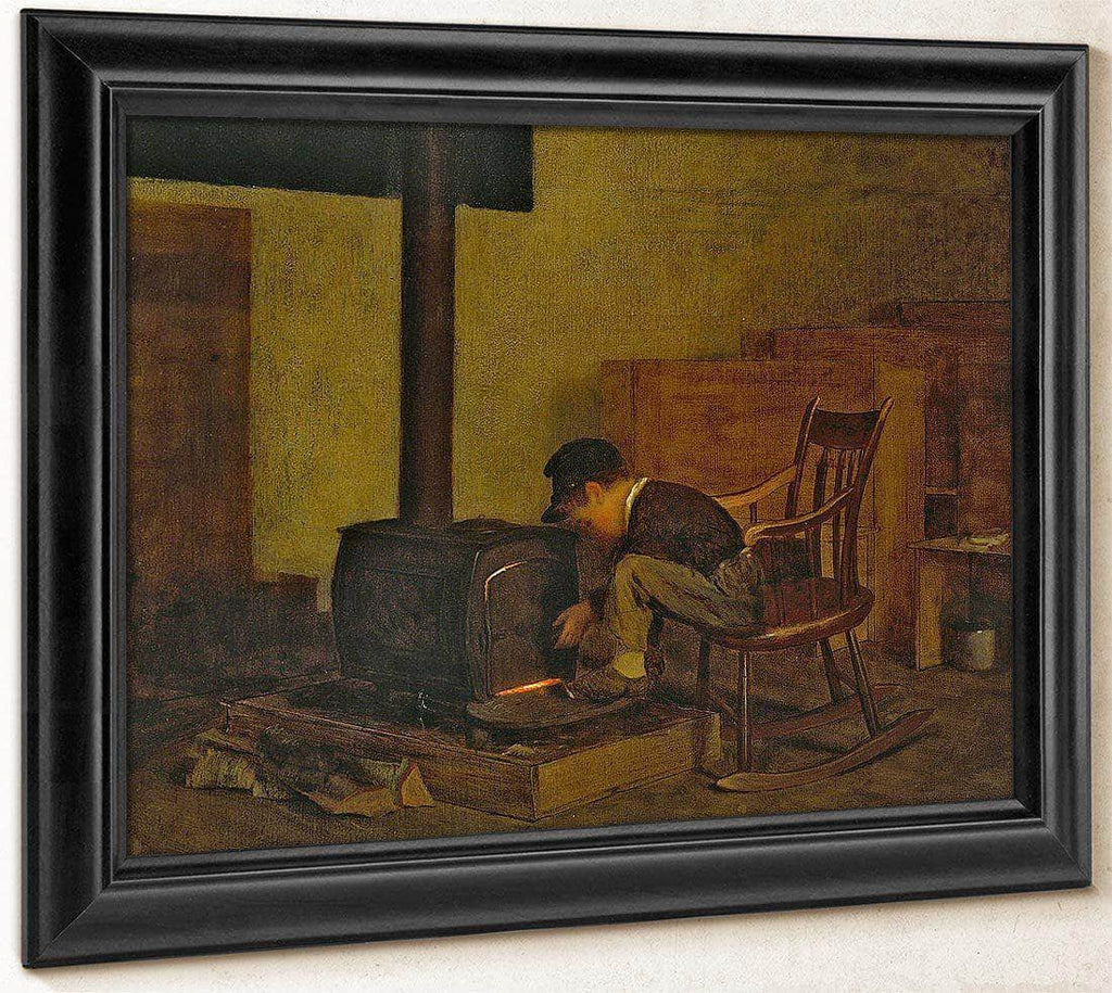 The Early Scholar By Eastman Johnson