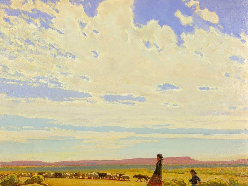 The Edge Of Autumn By Maynard Dixon