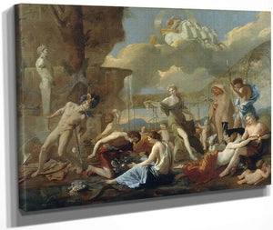 The Empire Of Flora By Nicholas Poussin