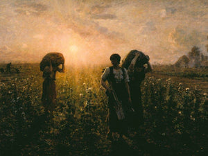 The End Of The Working Day By Breton Jules