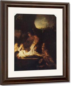 The Entombment Of Christ By Rembrandt