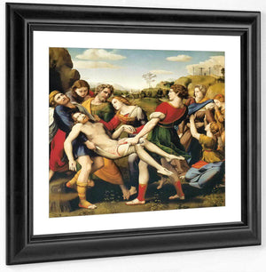 The Entombment By Raphael