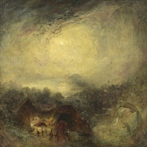 The Evening Of The Deluge By Joseph Mallord William Turner