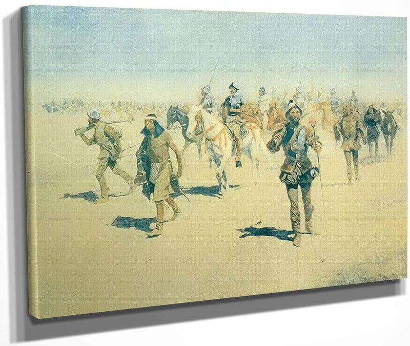 The Expedition Of Francisco Coronado By Frederic Remington