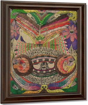 The Eyeglass Butterfly In India 1911 By Adolf Wolfli