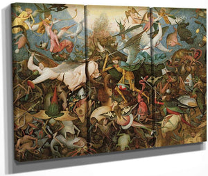 The Fall Of The Rebel Angels By Pieter Brueghel Ii