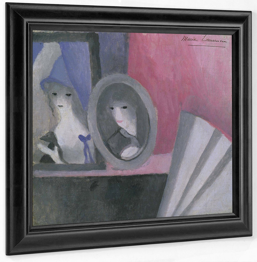 The Fan 1919 By Marie Laurencin