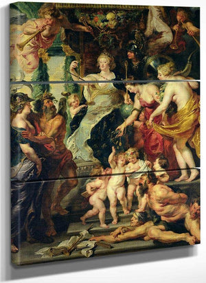 The Felicity Of The Regency  2 By Peter Paul Rubens