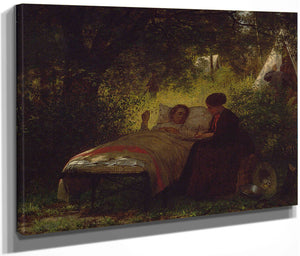 The Field Hospital By Eastman Johnson