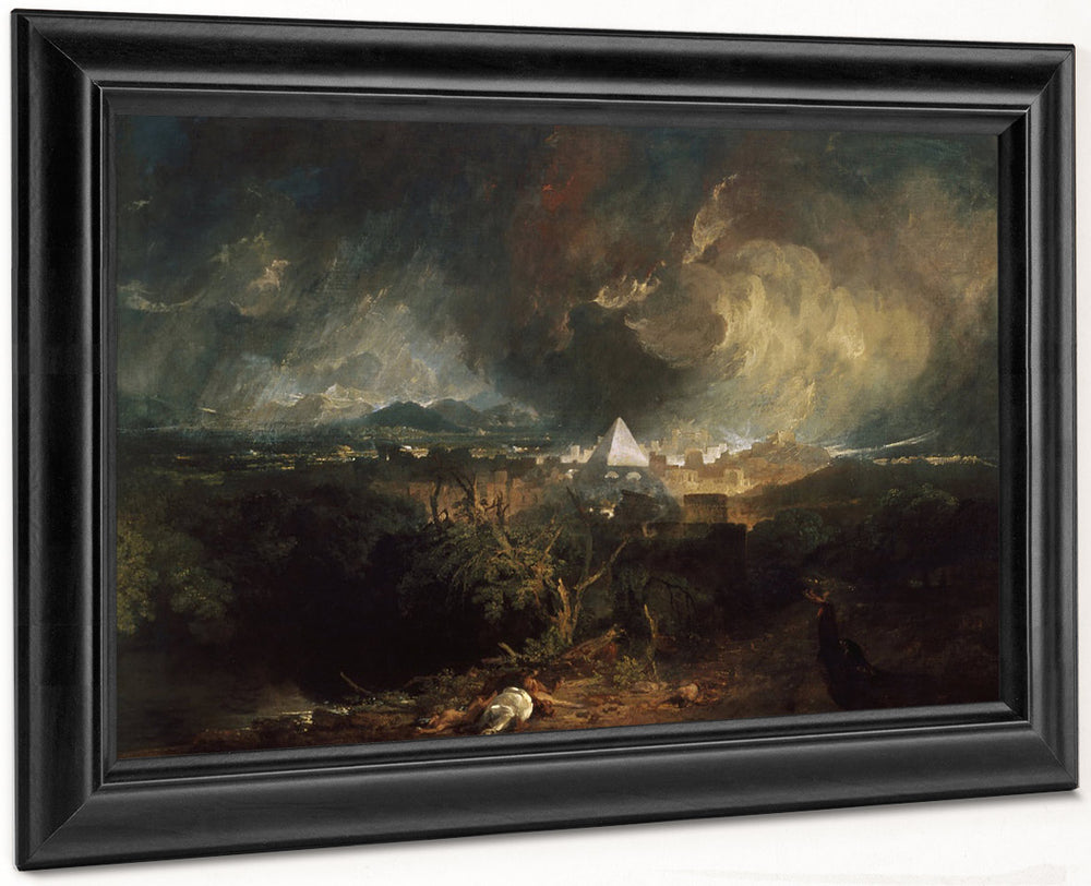 The Fifth Plague Of Egypt by Joseph Mallord William Turner Wall Art ...