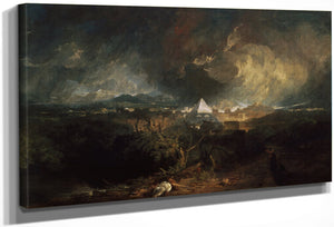 The Fifth Plague Of Egypt By Joseph Mallord William Turner