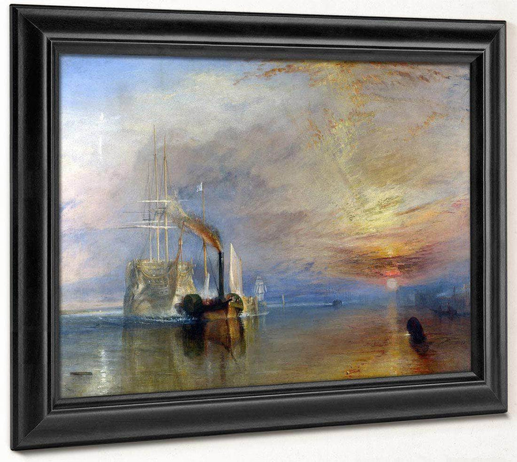 The Fighting Temeraire 1839 1 By Joseph Mallord William Turner
