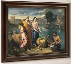 The Finding Of Moses I By Nicholas Poussin