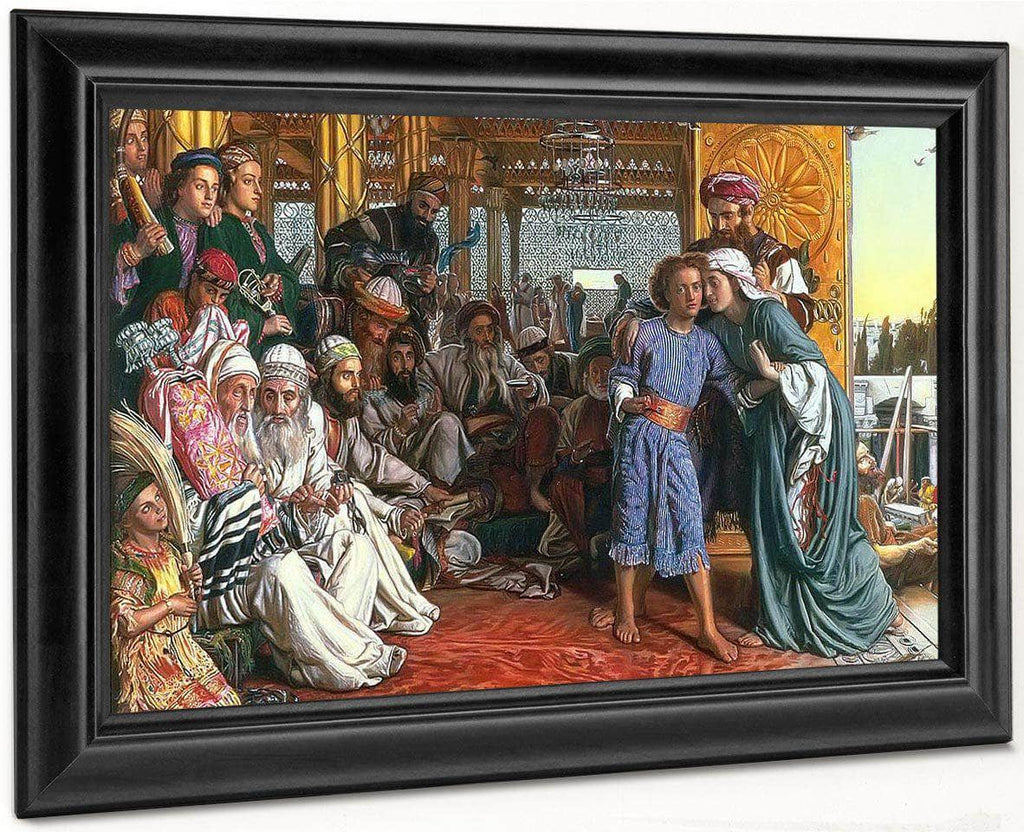 The Finding Of The Saviour In The Temple By William Holman Hunt