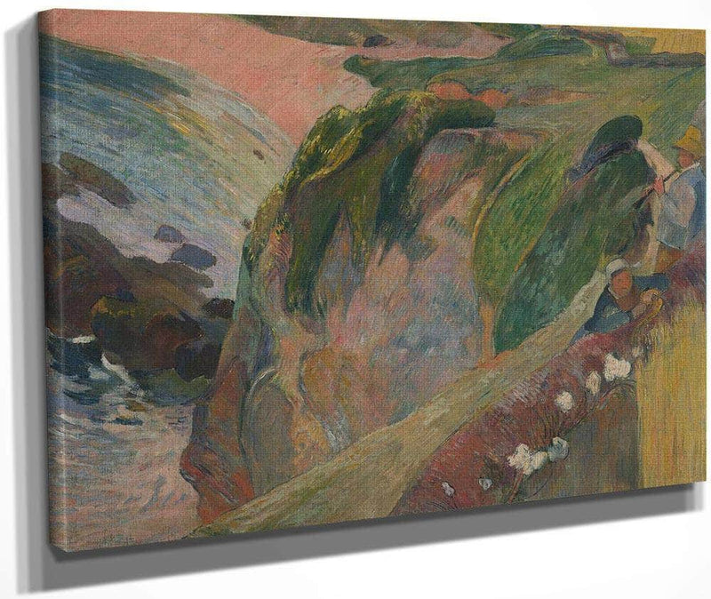 The Flageolet Player On The Cliff By Paul Gauguin