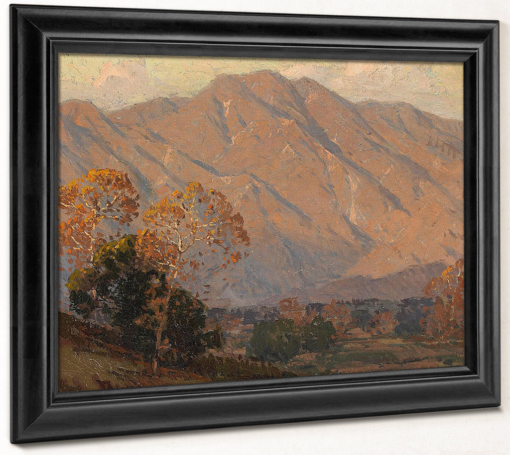 The Foothills Of Pasadena By Edgar Payne