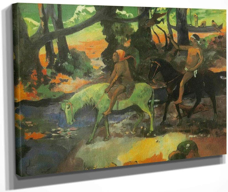 The Ford ( The Flight) By Paul Gauguin