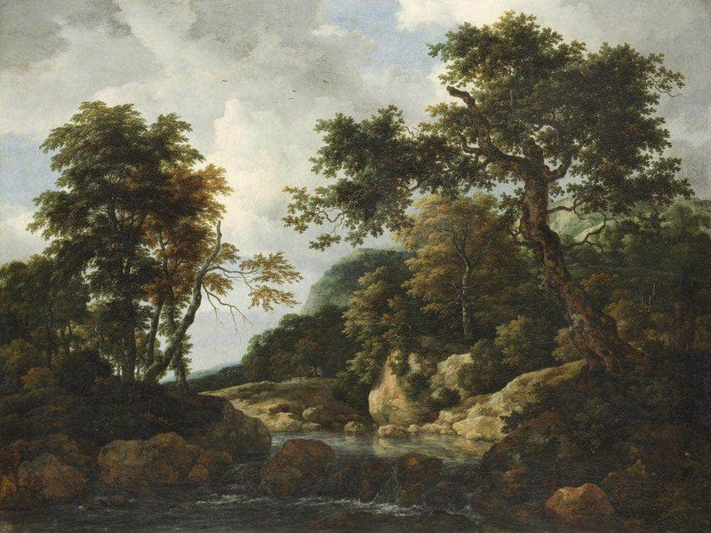 The Forest Stream By Jacob Van Ruisdael