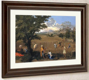 The Four Seasons Summer (Ruth And Boaz) By Nicholas Poussin