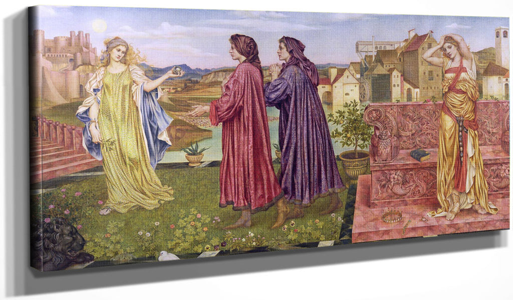 The Garden Of Opportunity 1892 By Evelyn De Morgan