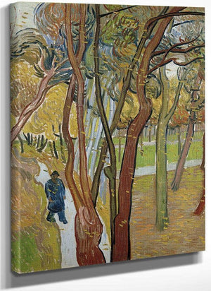 The Garden Of Saint Paul's Hospital ('The Fall Of The Leaves') By Vincent Van Gogh