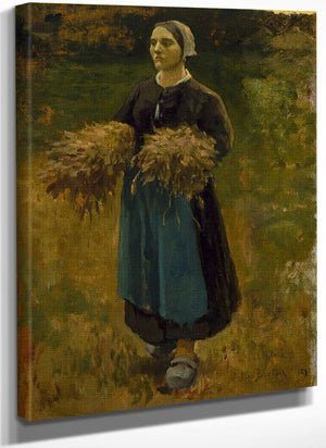 The Gleaner By Jules Breton