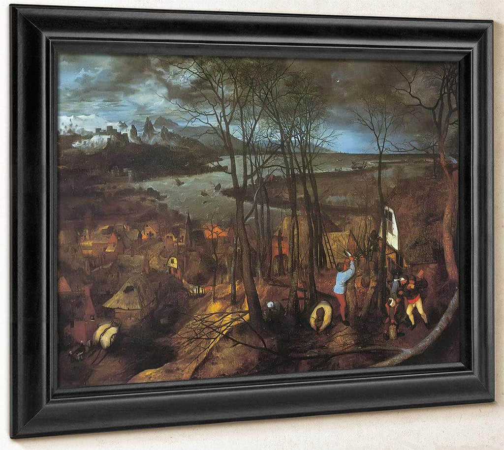 The Gloomy Day 1565 By Pieter Bruegel
