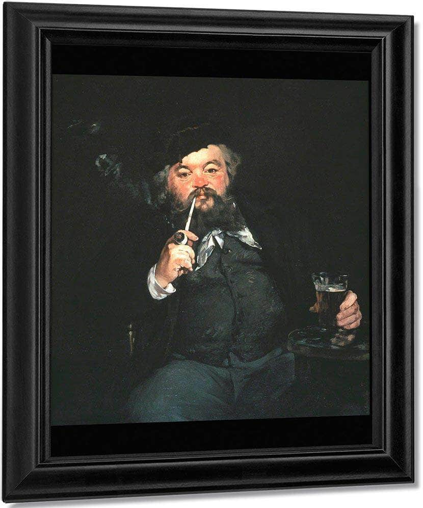 The Good Beer (Le Bon Bock) Manet Edouard