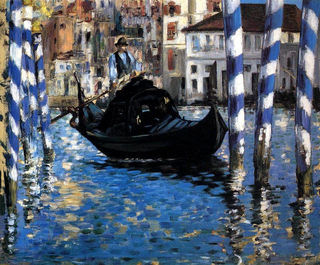 The Grand Canal Of Venice Blue Venice Painting Edouard Manet Canvas Art