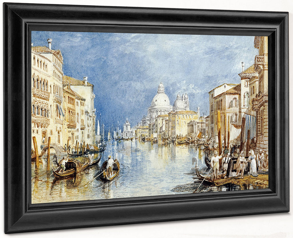 The Grand Canal Venice By Joseph Mallord William Turner