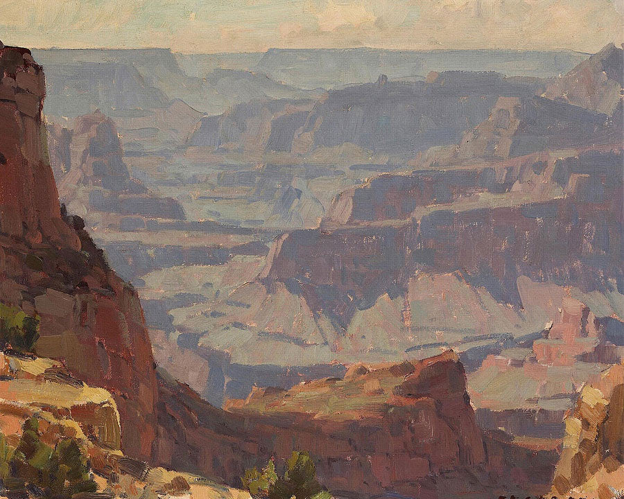 The Grand Canyon By Edgar Payne