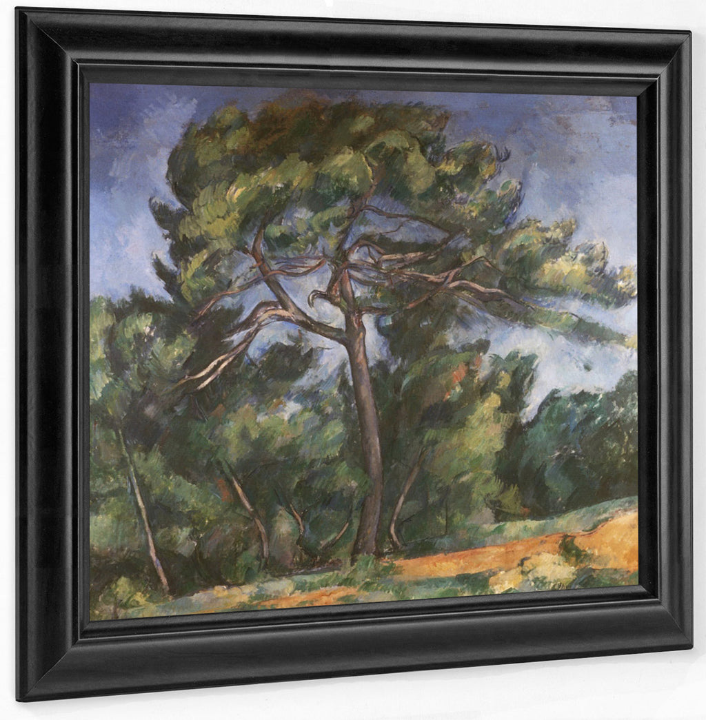 The Great Pine By Paul Cezanne