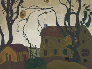 The Green House By Arthur Dove