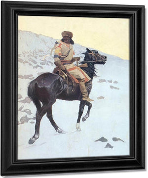 The Half Breed By Frederic Remington