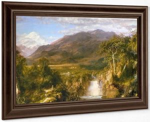 The Heart Of The Andes By Frederic Edwin Church