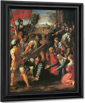 The Hill Of Calvary By Raphael