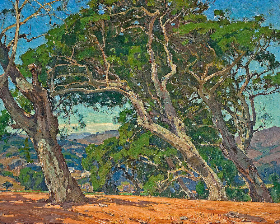 The Hilltop 1926 By William Wendt