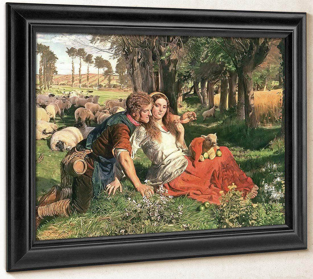 The Hireling Sheperd By William Holman Hunt