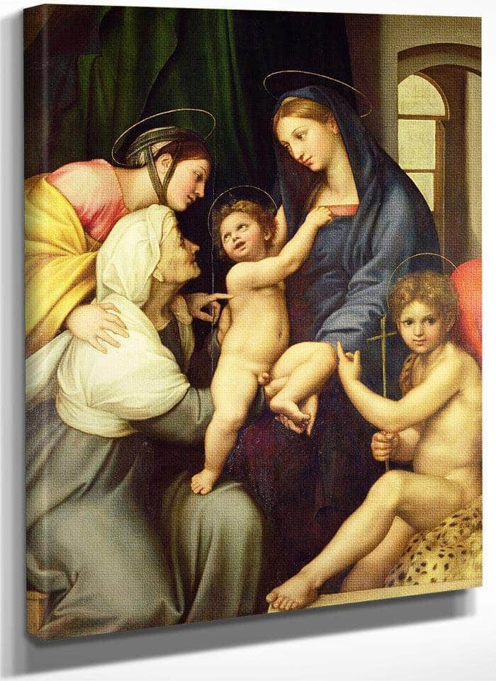The Holy Family By Raphael