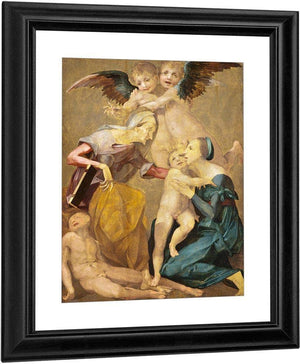The Holy Family By Rosso Fiorentino