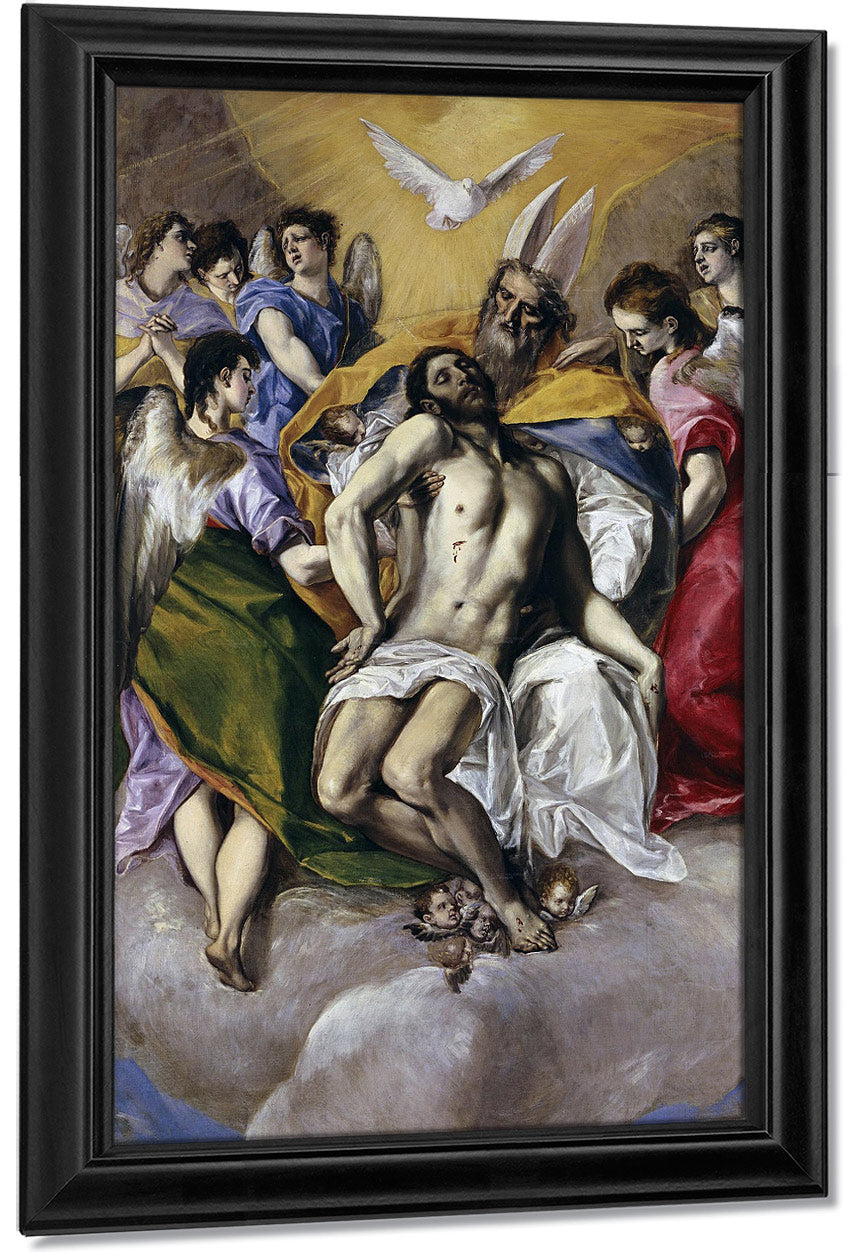 The Holy Trinity 1579 1 By El Greco