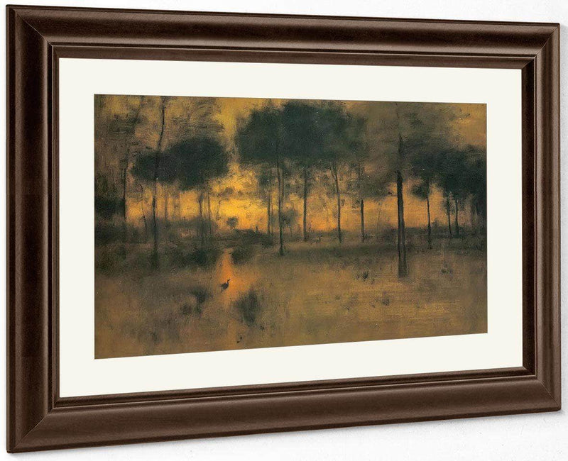The Home Of The Heron By George Inness