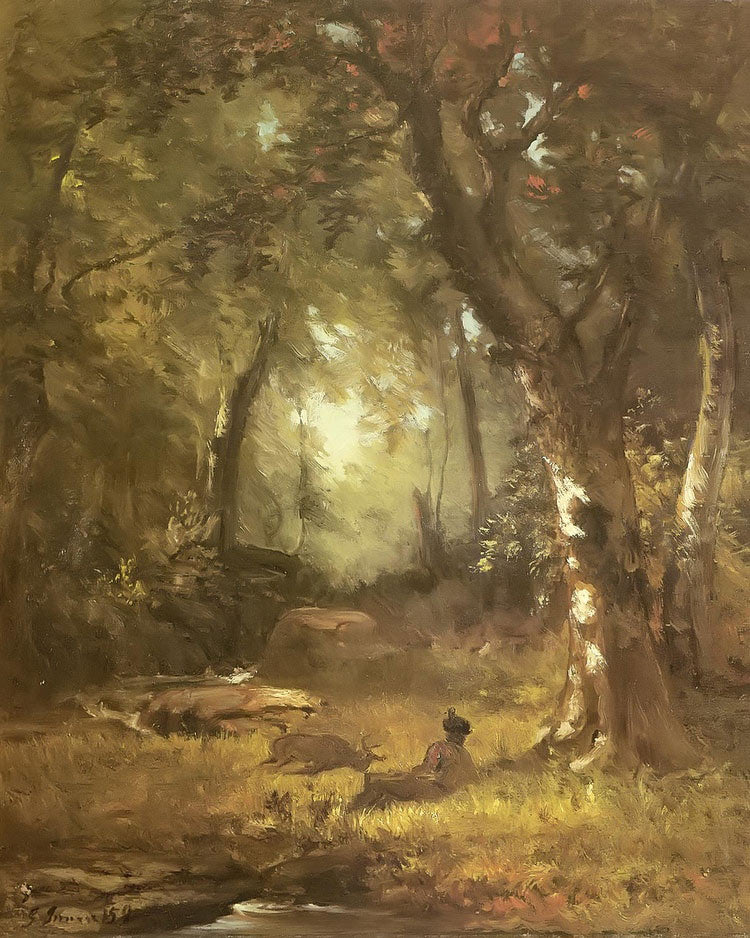 The Huntsman By George Inness