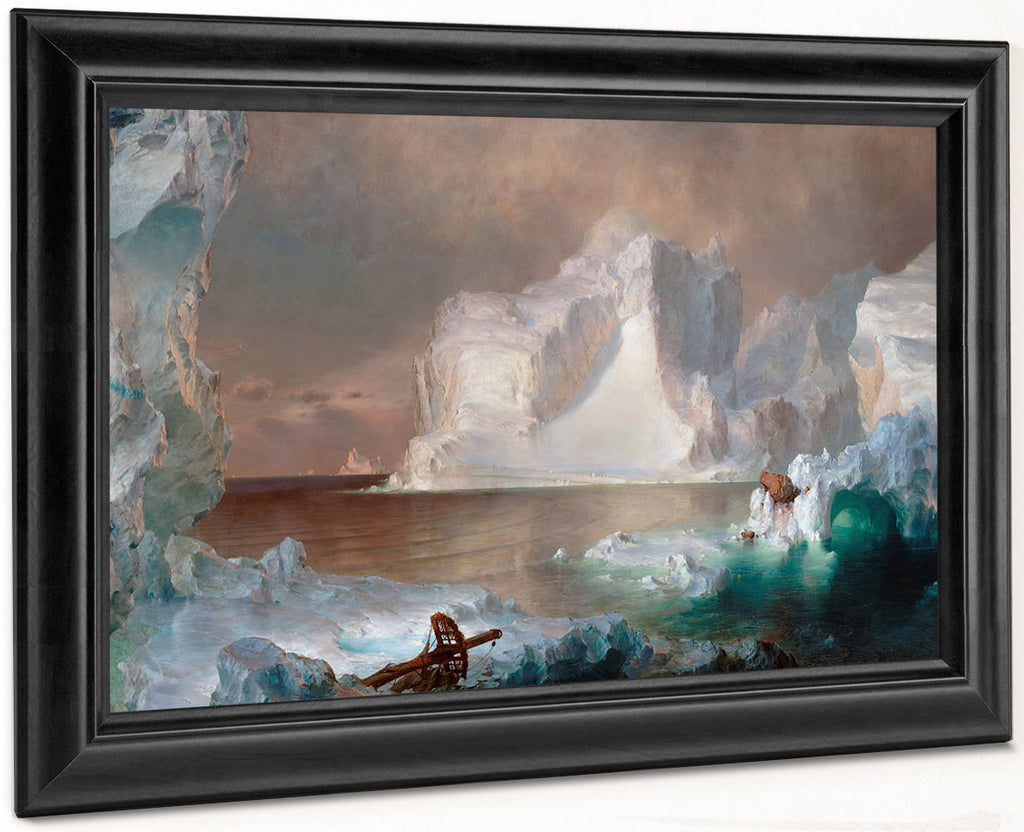 The Icebergs 1861 By Frederic Edwin Church