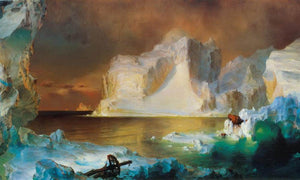 The Icebergs By Fredric Edwin Church