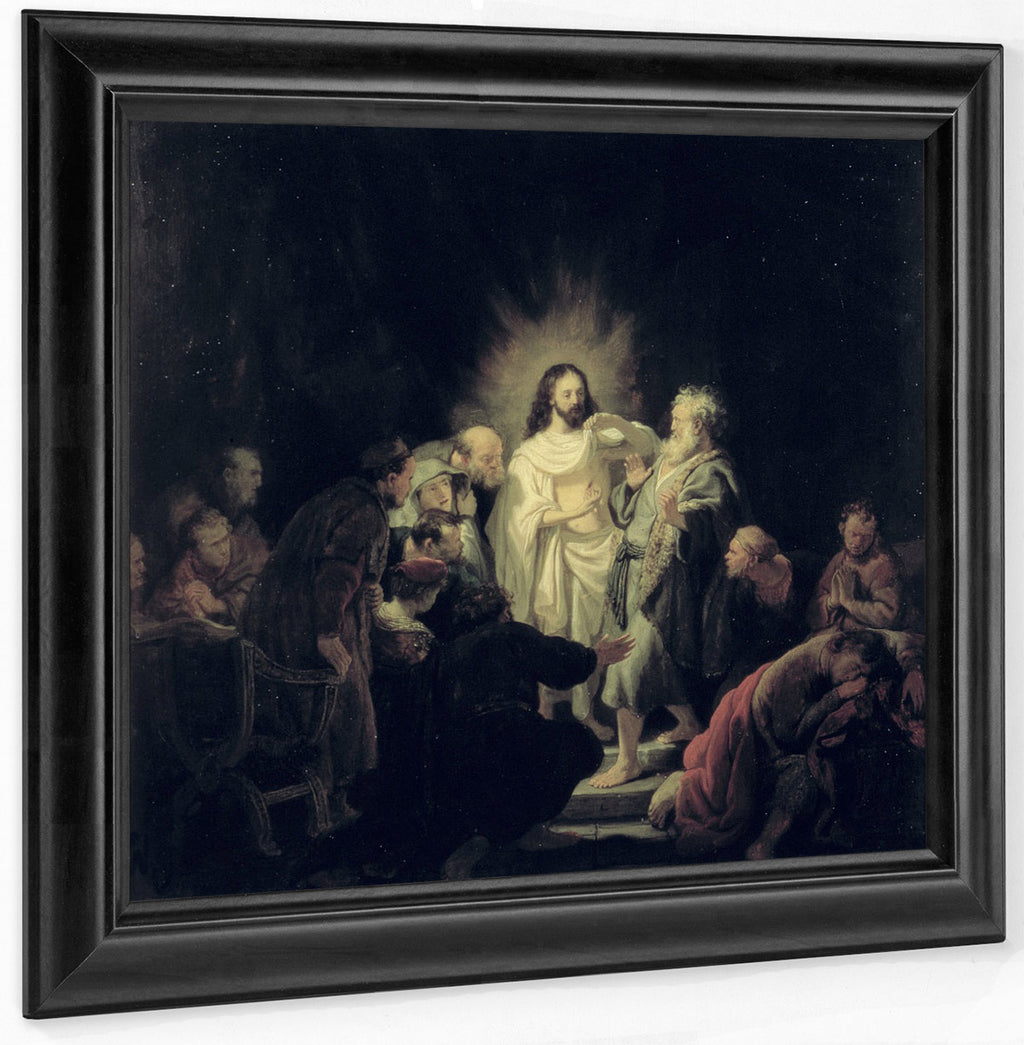 The Incredulity Of St. Thomas By Rembrandt